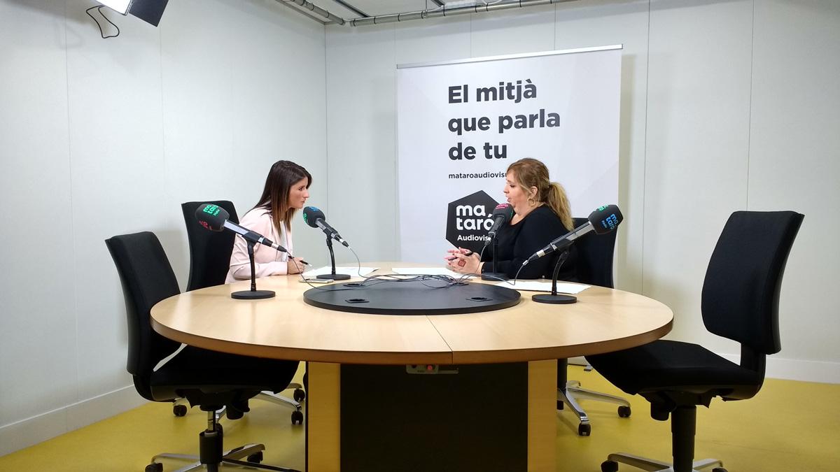 Núria Castillo en Mataró ràdio