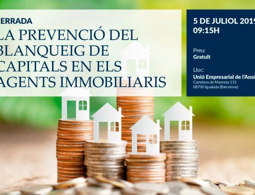 La Prevención del Blanqueo de Capitales en los agentes inmobiliarios