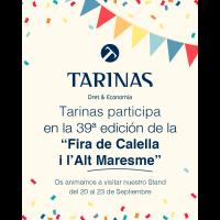 39 fira de Calella i Alt Maresme