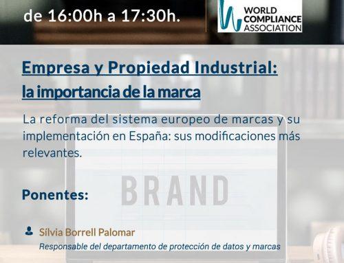 Webinar: Empresa y propiedad industrial: la importancia de la marca