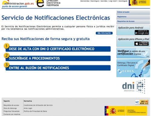 Importancia de recibir Notificaciones Electrónicas